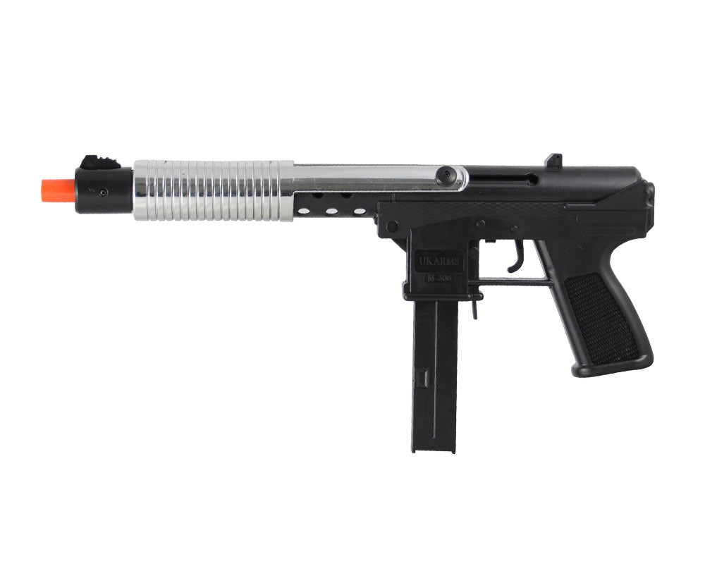 MP289 Spring Airsoft Uzi - Silver