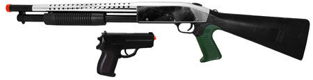 P799 Spring Airsoft Shotgun with Pistol