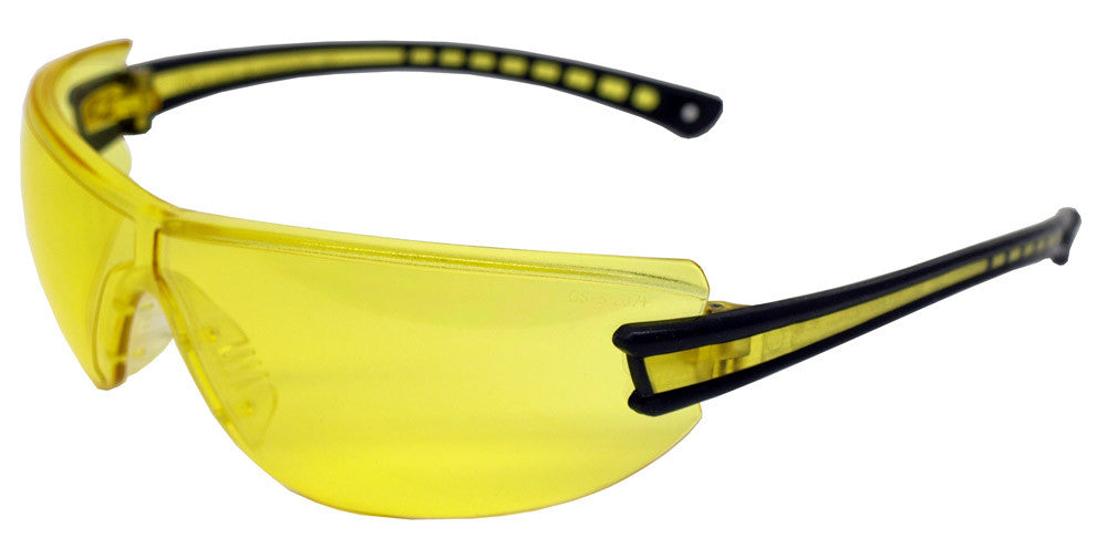 Airsoft Luminary Safety Glasses - Yellow