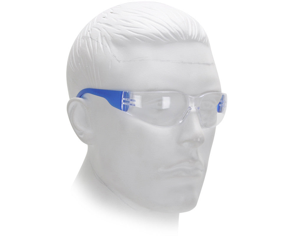 Airsoft Starlite Small Gumball Safety Glasses - Blue