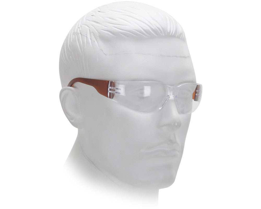 Airsoft Starlite Small Gumball Safety Glasses - Brown
