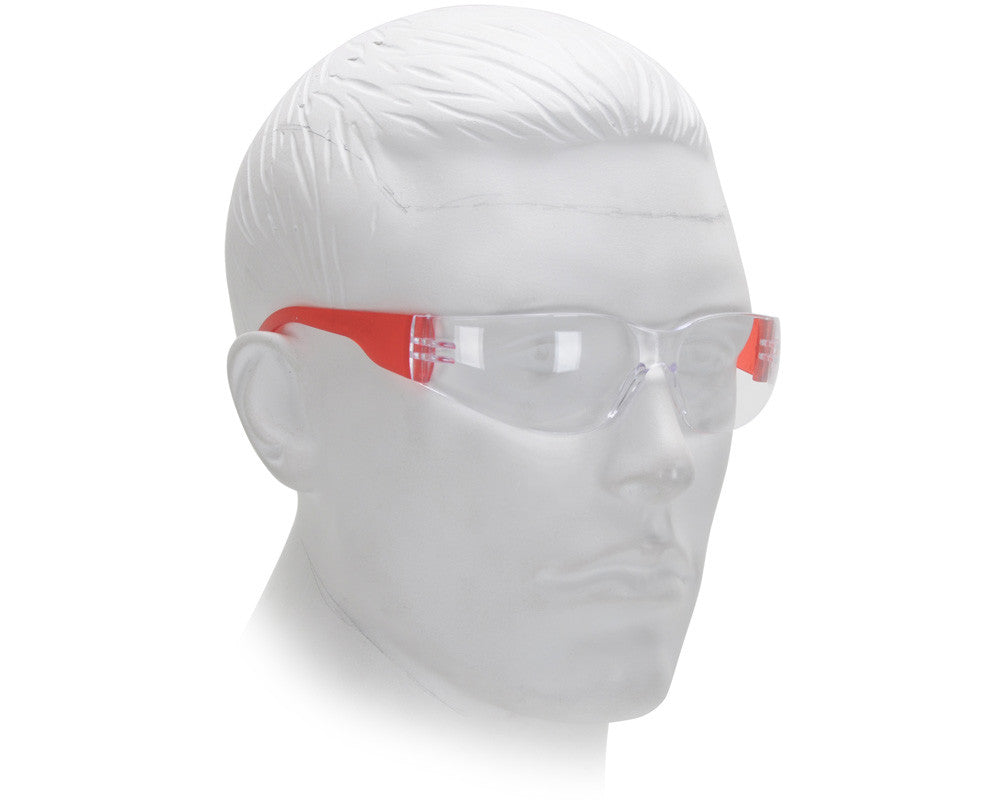 Airsoft Starlite Small Gumball Safety Glasses - Red