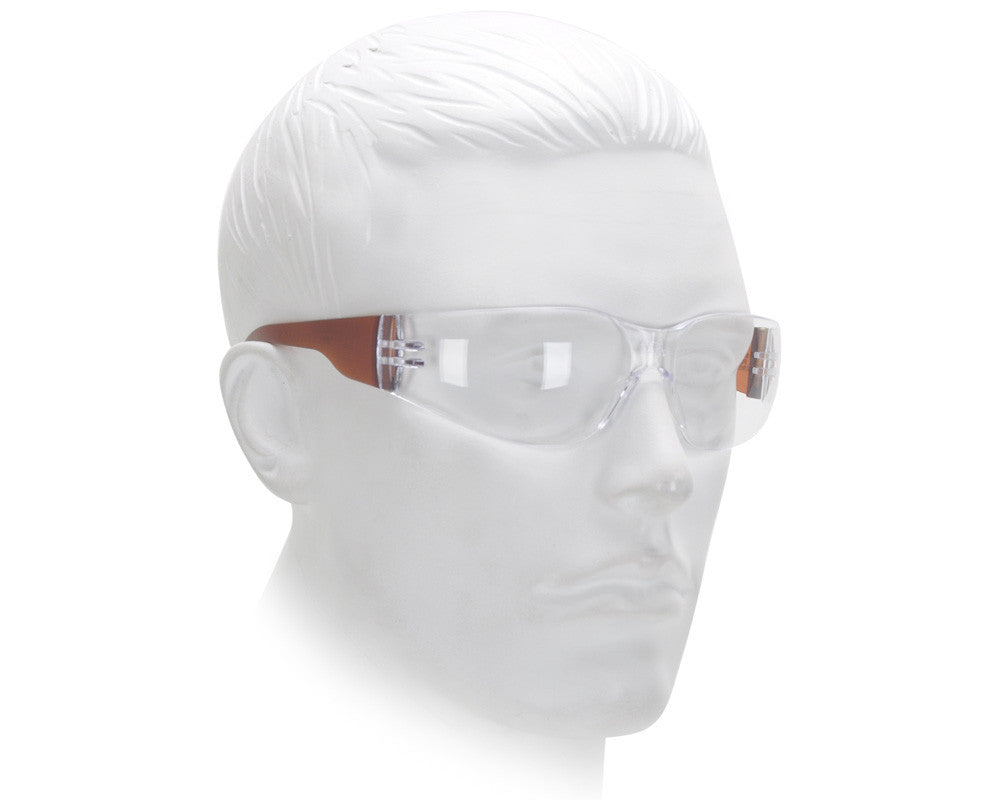 Airsoft Starlite Gumball Safety Glasses - Brown