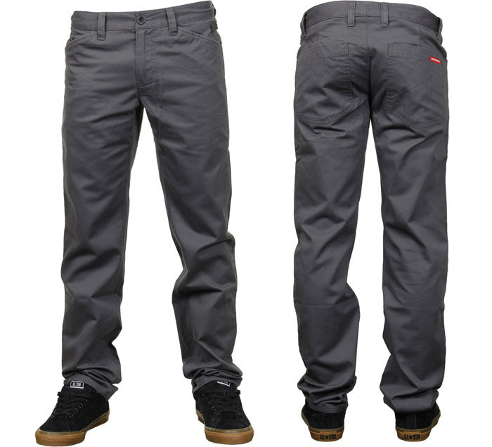 Alien Workshop Razor Chino - Charcoal - Mens Skateboard Pants
