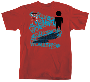 Alien Workshop Solo Shadow - Red - Men's T-Shirt