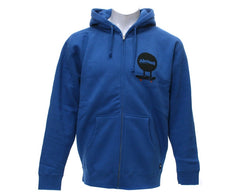 Almost Discman Zip Hoodie - Royal - Sweatshirt