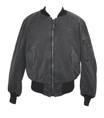 Alpha Industries Carrier Deck MA-1 Jacket - Black