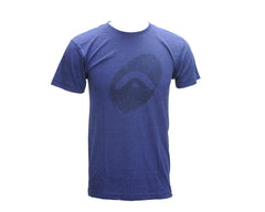 Angel Thumb Print Men's T-Shirt - Denim