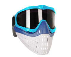 JT ProFlex Thermal Paintball Mask w/ Smoke Lens - Aqua w/ Blue/White Bottoms