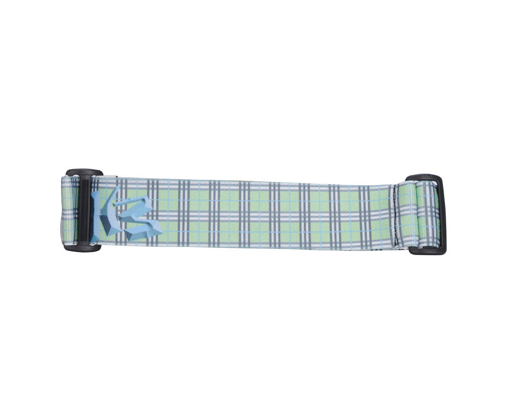KM Paintball Goggle Strap - 09 Mint Plaid