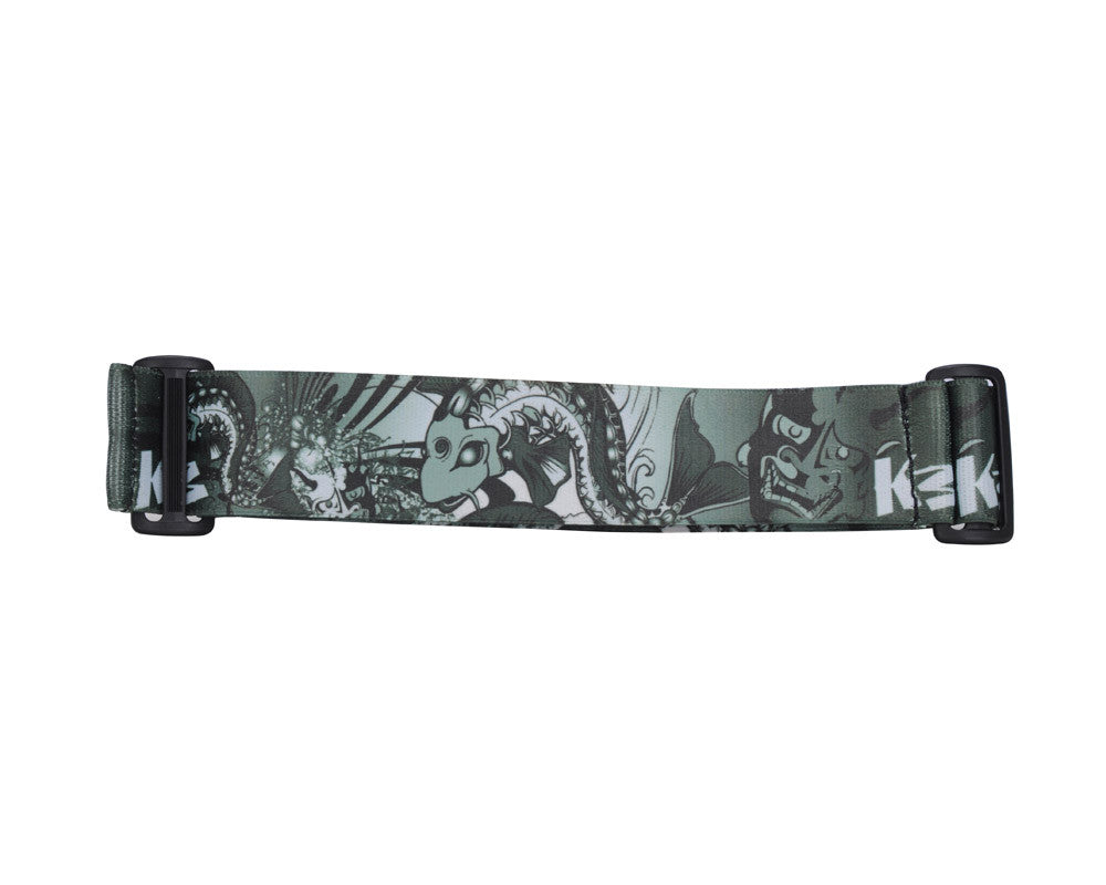 KM Paintball Goggle Strap - 09 Koi Black