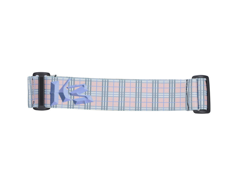 KM Paintball Goggle Strap - 09 Peach Plaid