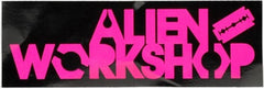 Alien Workshop My War 3-Color - Sticker