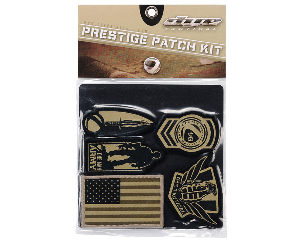 Dye 2011 Tactical Prestige Patch Kit - Badge