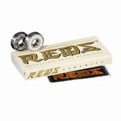Bones Reds - Ceramic - Skateboard Bearings (8 PC)