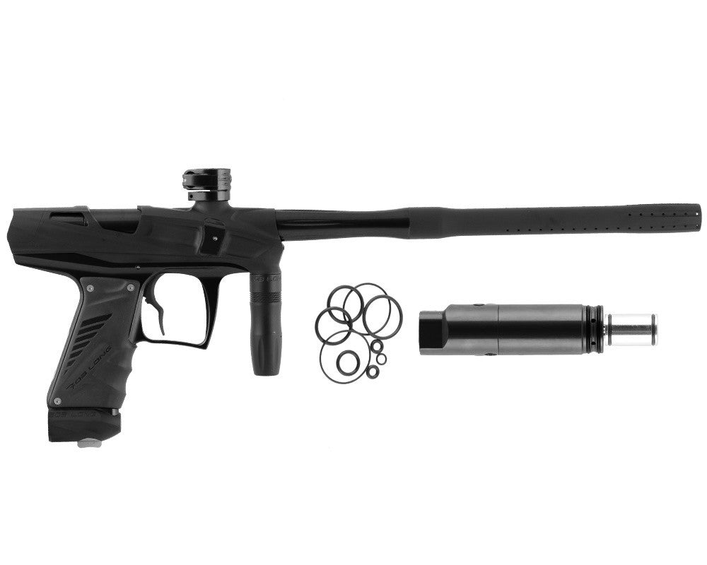 Bob Long Victory V-COM Paintball Gun - Black/Dust Black