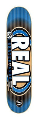 Real Renewal 4 Medium - Blue - 7.75in - Skateboard Deck