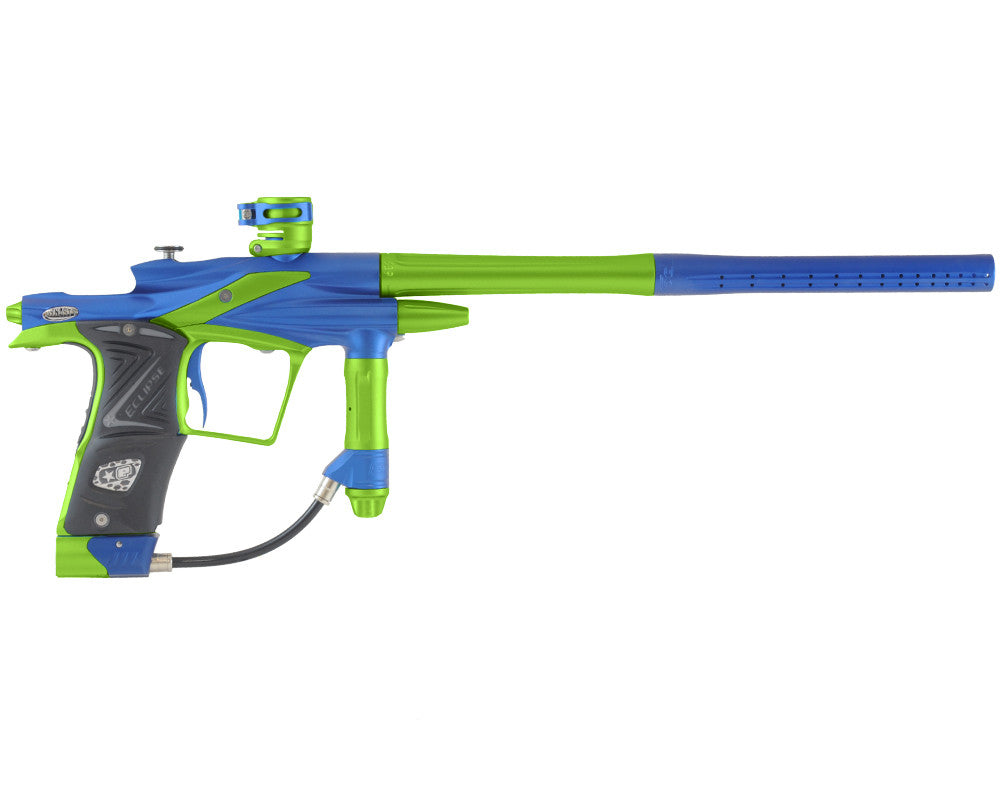 Planet Eclipse 2011 Ego Paintball Gun - Dynasty Blue/Lime