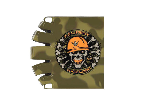 Bnkr Kings Knuckle Butt Tank Cover - Royal Force