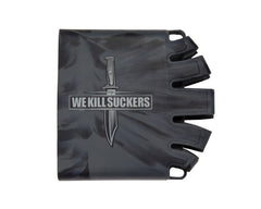Bnkr Kings Knuckle Butt Tank Cover - WKS - Grey/Black