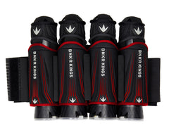 Bnkr Kings 4+5 Supreme Paintball Pack - Red
