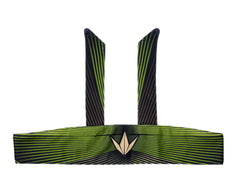 Bnkr Kings Tie Head Band - Woodstripe