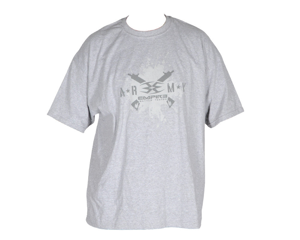 BT Paintball 2012 Army Men's T-Shirt - Grey
