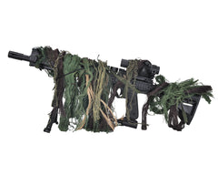 Bushrag Rifle Rag Ghillie Kit - Woodland