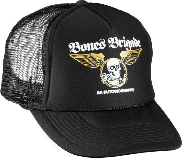 Bones Brigade An Autobiography Mesh Trucker Cap - Black - Men's Hat