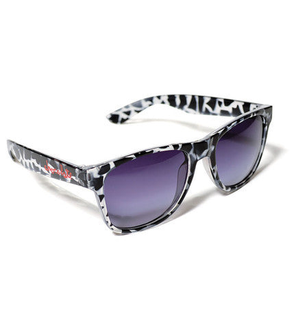 Chocolate Deluxe Chunk Shades - Black/Clear Tortoise - Sunglasses