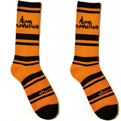 Chocolate Cities - Orange - Men's Socks (1 Pair)