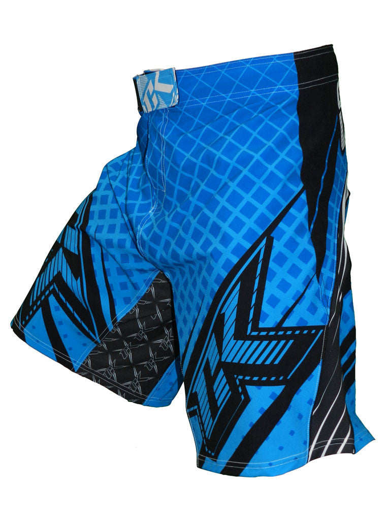 Contract Killer Grappler Shorts - Blue