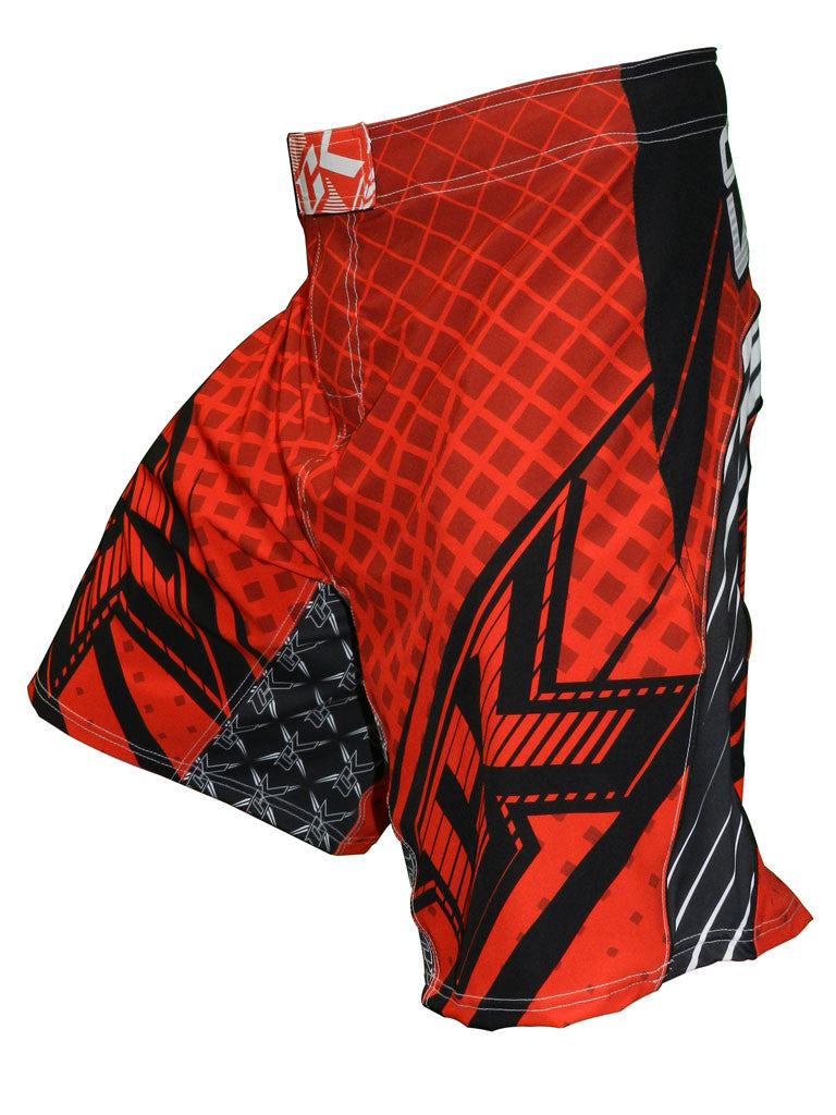 Contract Killer Grappler Shorts - Red