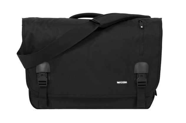 Incase Nylon Messenger Bag - Black - Messenger Bag
