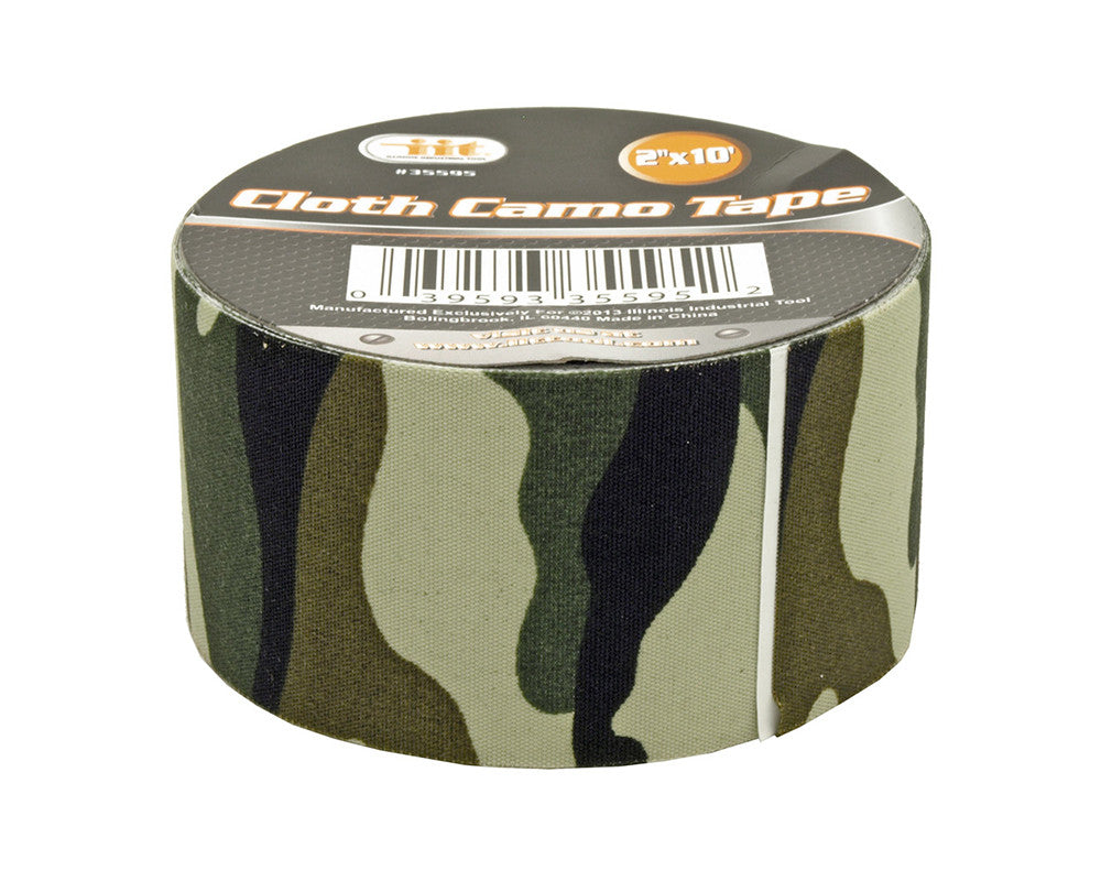 "2"" x 10' Cloth Camo Tape"