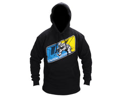 Contract Killer CK PB13 Pull Over Hoody - Black