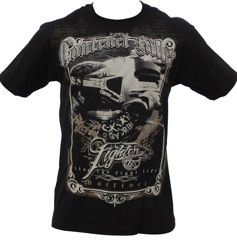 Contract Killer Todd Martinez T-Shirt - Black