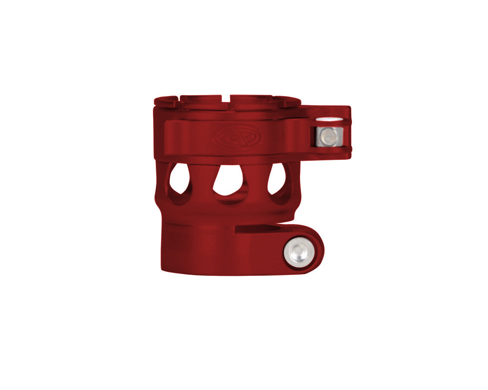 Custom Products CP Ego 07/08/09/10/11 Clamping Feed Neck - Dust Red