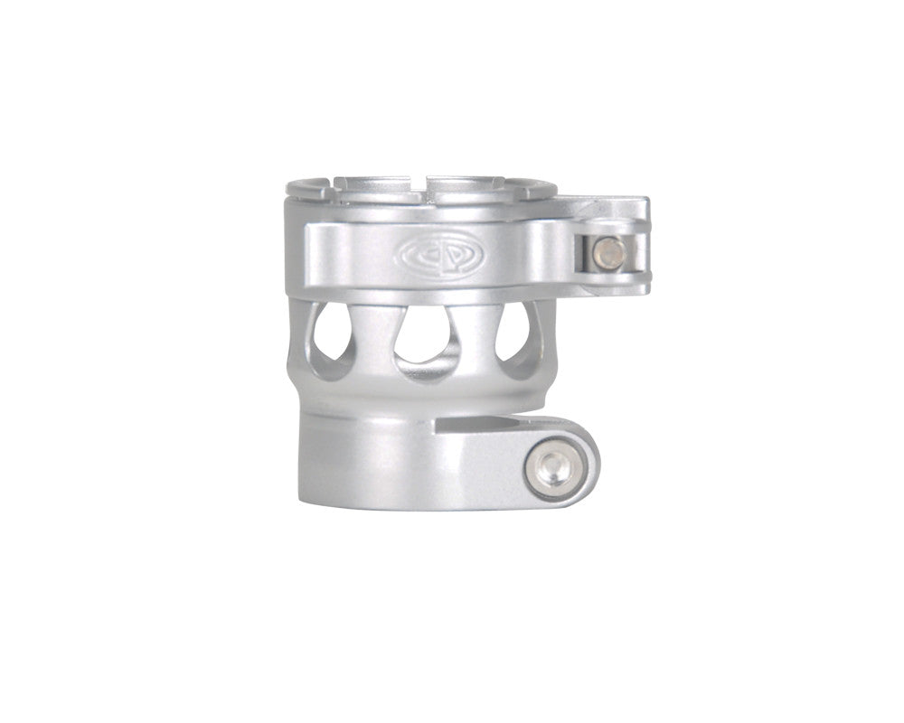 Custom Products CP Etek 3 Clamping Feed Neck - Dust Silver