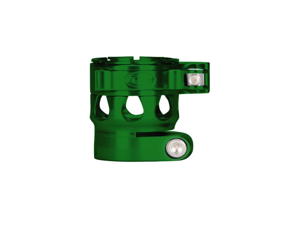 Custom Products CP Etek 3 Clamping Feed Neck - Green