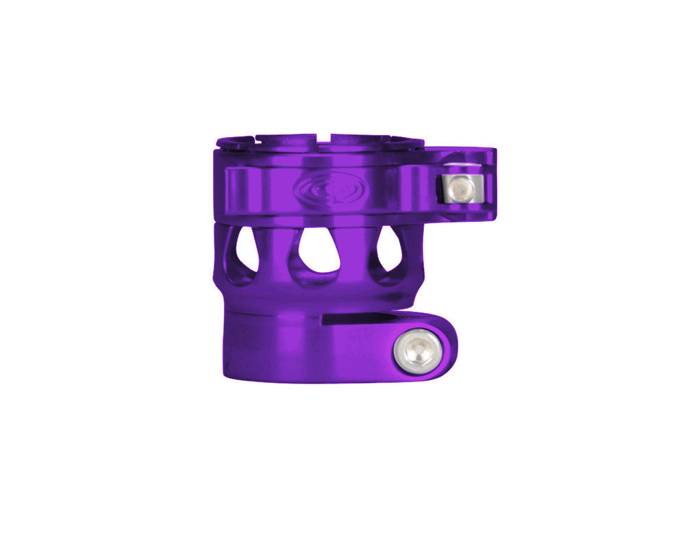 Custom Products CP Ego 07/08/09/10/11 Clamping Feed Neck - Purple