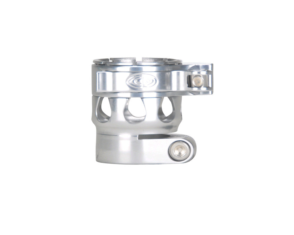 Custom Products CP Etek 3 Clamping Feed Neck - Silver