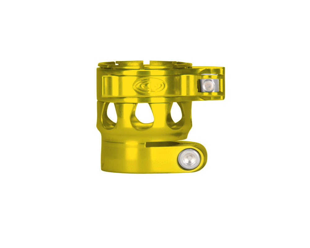 Custom Products CP Ego 05 & 06 Clamping Feed Neck - Yellow