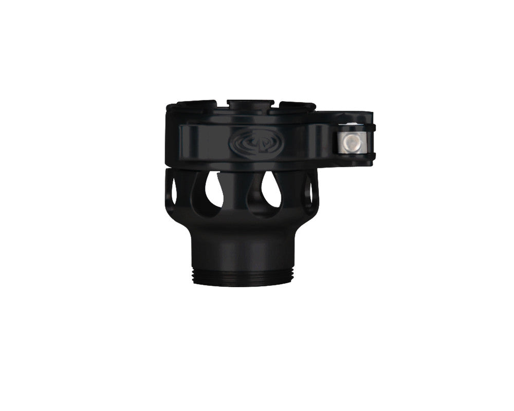 Custom Products CP Spyder VS1, VS2, VS3, RS, & RSX Clamping Feed Neck - Black