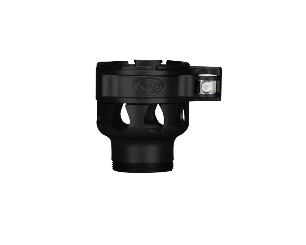 Custom Products CP Ion Clamping Feed Neck - Dust Black