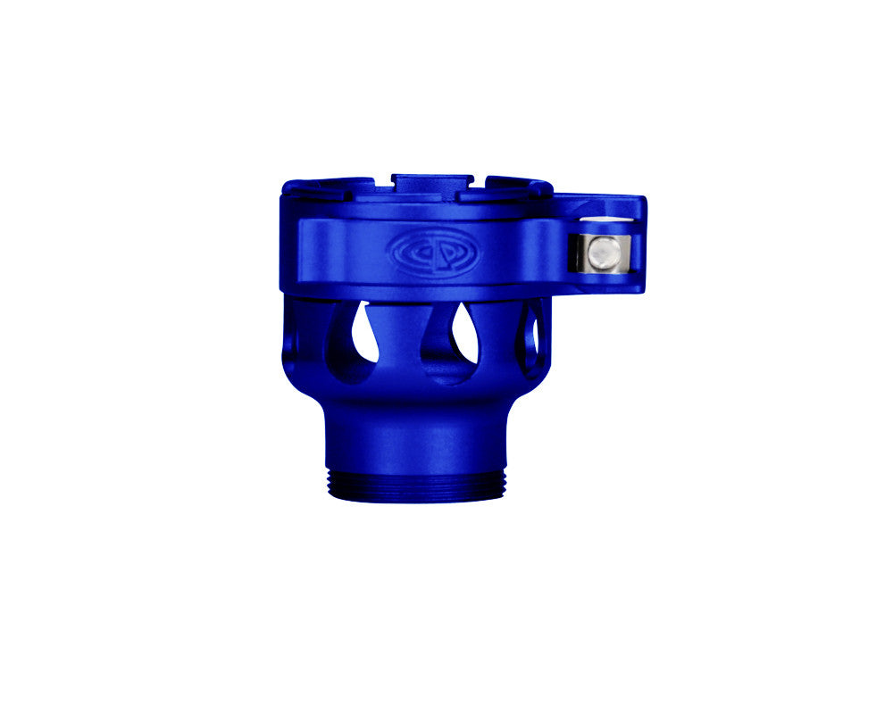Custom Products CP Empire Axe Clamping Feed Neck - Dust Blue