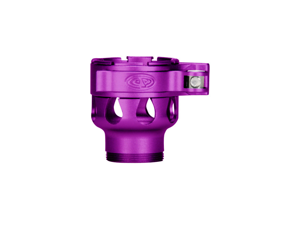 Custom Products CP Empire Axe Clamping Feed Neck - Dust Purple