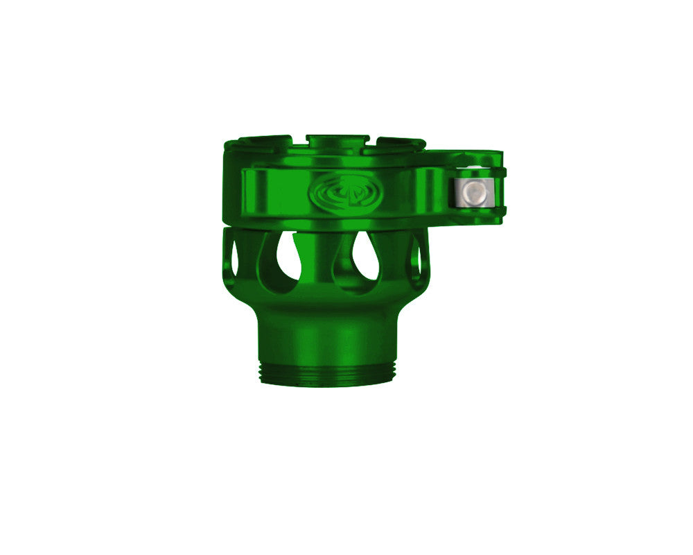 Custom Products CP Dye DM6, DM7, DM8 Clamping Feed Neck - Green