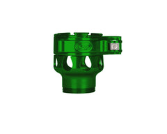 Custom Products CP Spyder VS1, VS2, VS3, RS, & RSX Clamping Feed Neck - Green