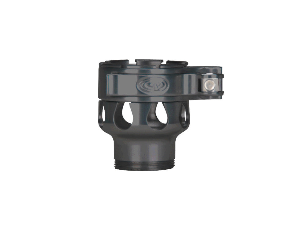 Custom Products CP Invert Mini Clamping Feed Neck - Pewter